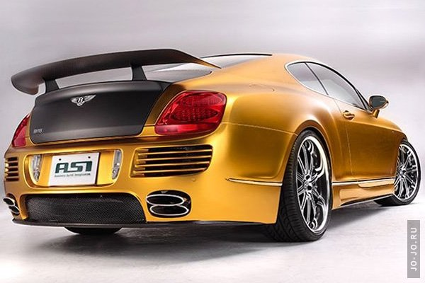 2008 ASI Bentley W66 GTS Gold