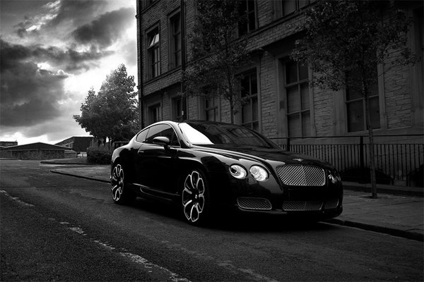 2008 Project Kahn Bentley Continental GTS 'Black Edition'