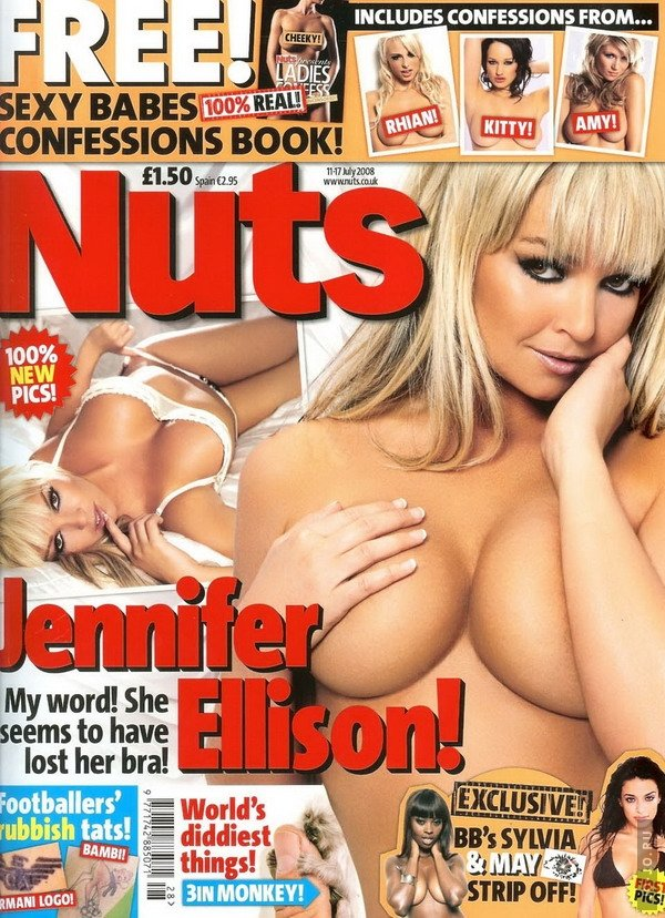 Jennifer Ellison в журнале Nuts