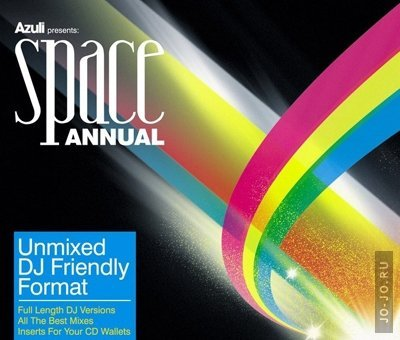 Azuli presents: space annual 08 dj only (unmixed version)