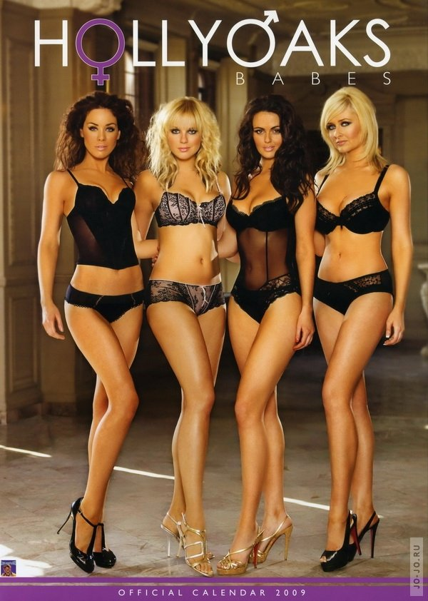 Hollyoaks Babes - Official Calendar 2009