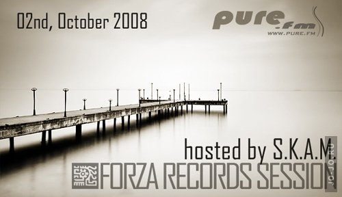 S.K.A.M.- Forza records session on Pure FM