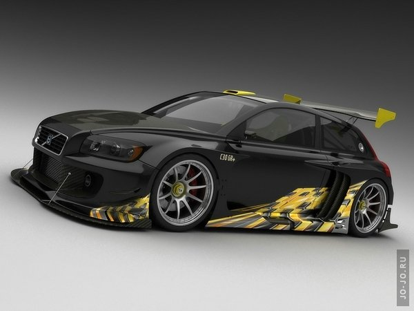 Volvo C30 racer from vizualtech design