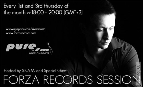 S.K.A.M. - Forza records session 015 on Pure.FM