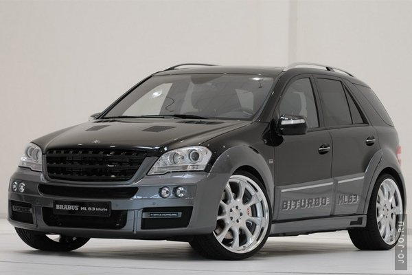 Brabus ML 63 Biturbo (Mercedes AMG ML 63) 2009