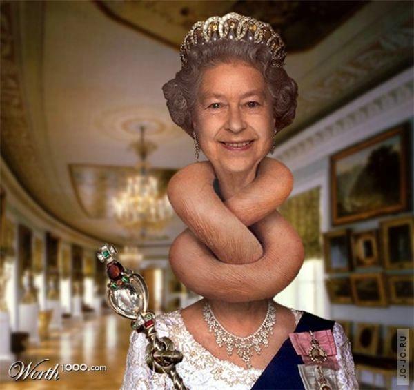 Картинки, картинка королевы прикол