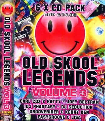 Old Skool Legends Volume 3