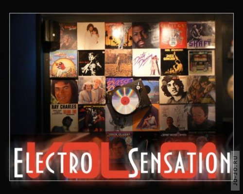 Electro Sensation Vol.01 (mixed by Michael Paradise)