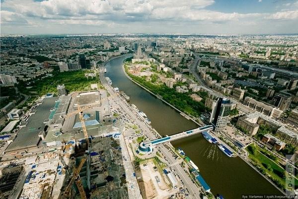 Фотографии москвы с крыши города