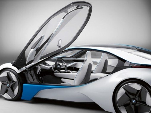 Новый концепт BMW: Vision EfficientDynamics