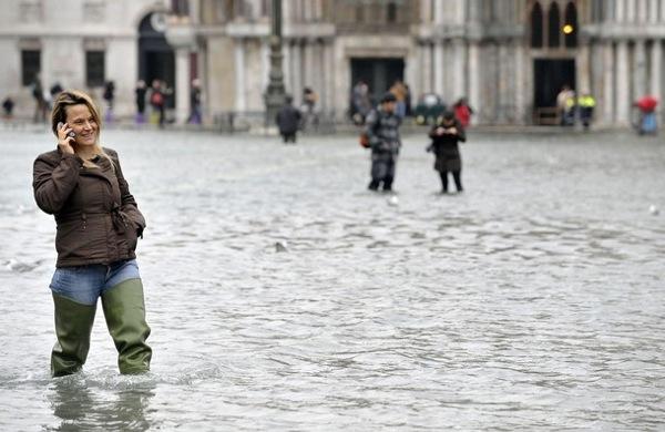 Наводнение в италии наводнение