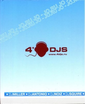 4DJS (mixed by djs Miller, Antonio, Noiz & Squire)