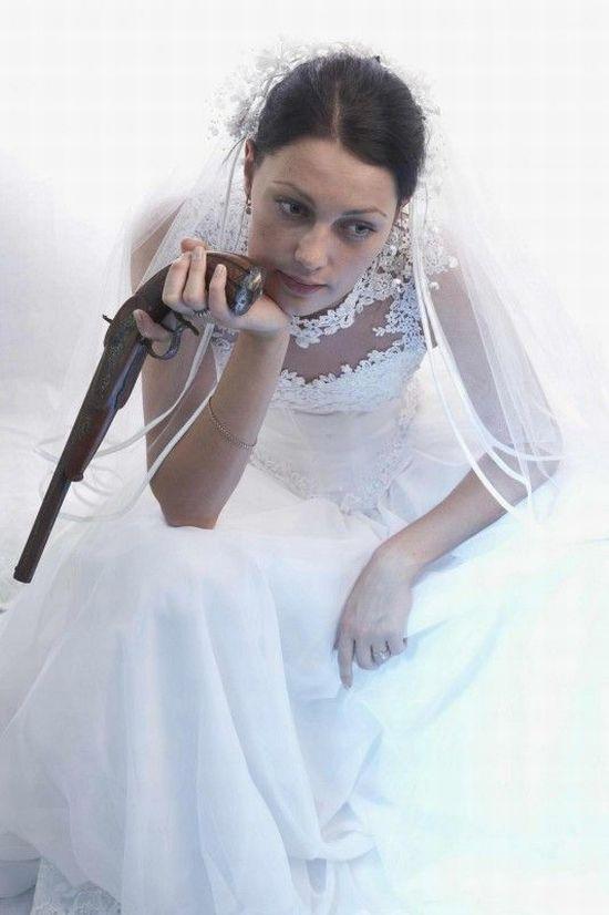 Невеста смешные картинки