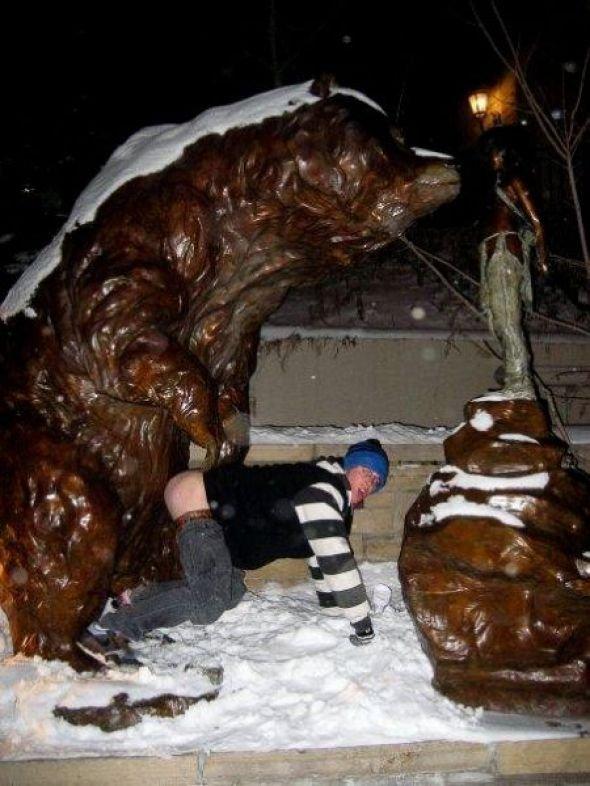 Секс со статуей ххх 2 фотография