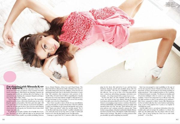 Miranda Kerr разделась для журнала GQ