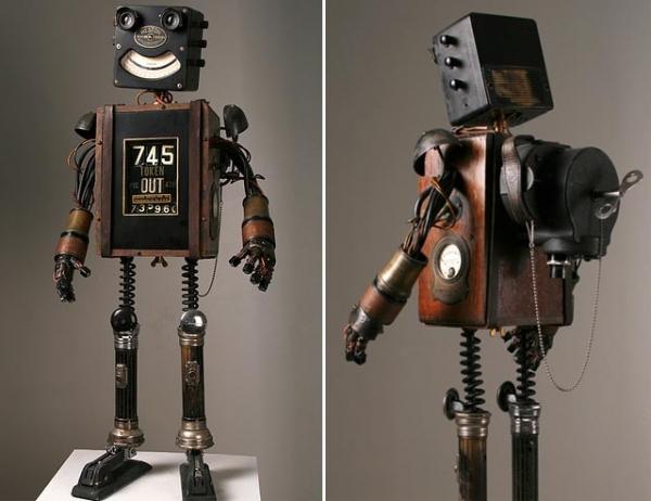 Робот из подручных средств