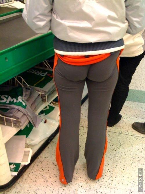 Фото брюки попки штаны в обтяшку
