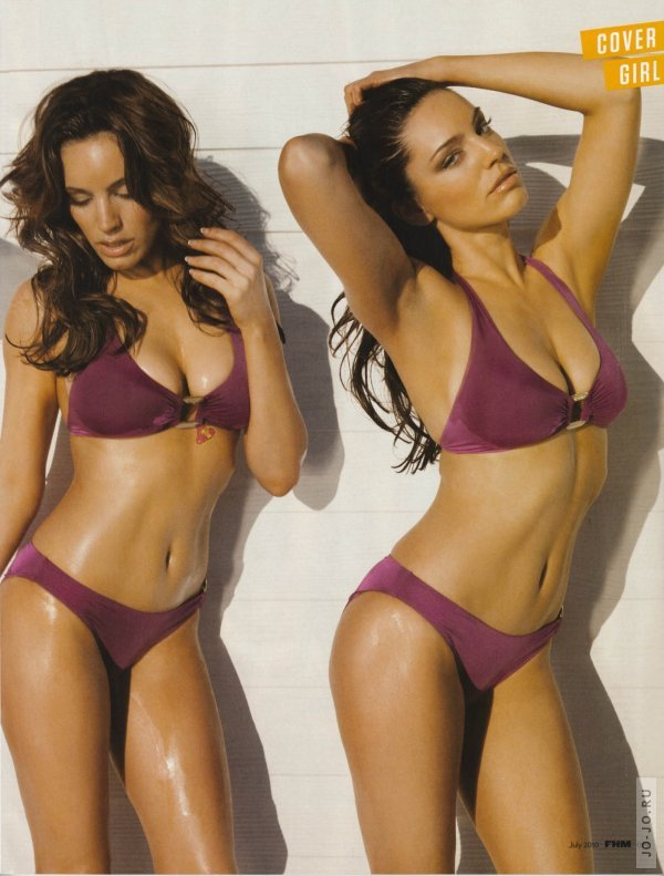 Kelly Brook в журнале FHM (Июль 2010)