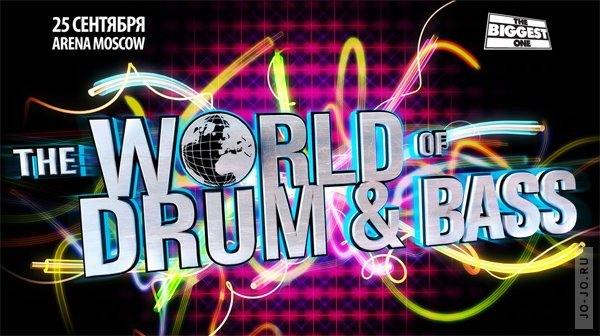 The WORLD OF DRUM&BASS mix by DJ PROFIT (Russian edition)