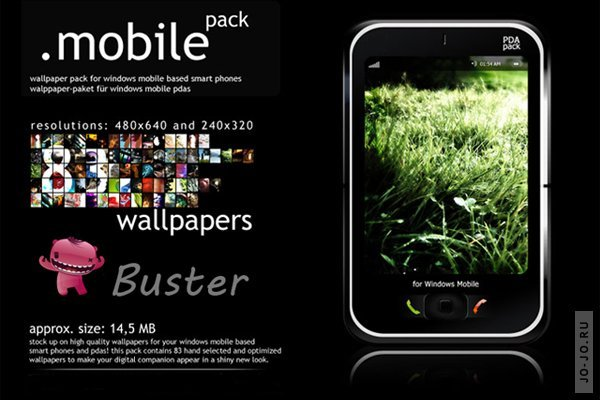 Wallpapers Mobile Pack. By Buster #1