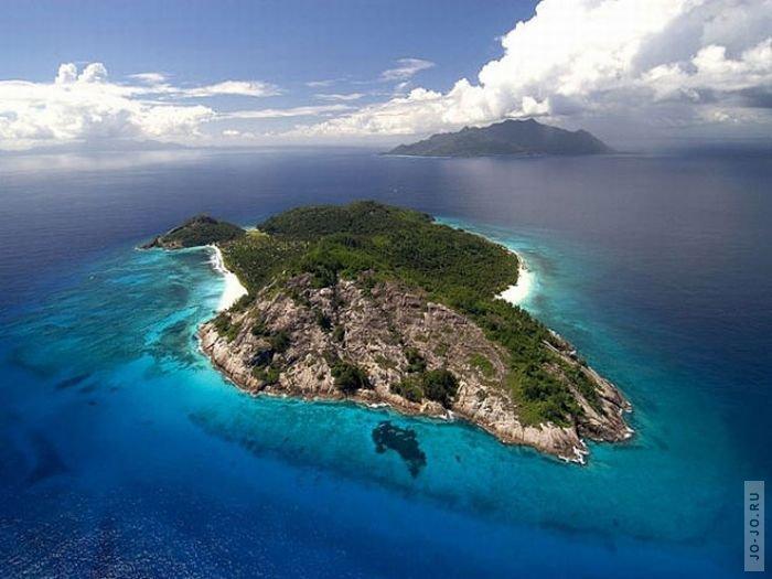 Частное владение North Island на Сейшельских островах - это райский