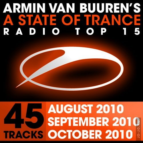 A State Of Trance Radio Top 15 October September August 2010