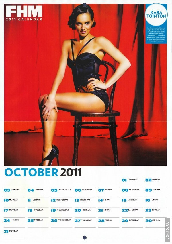 FHM. Official Calendar 2011