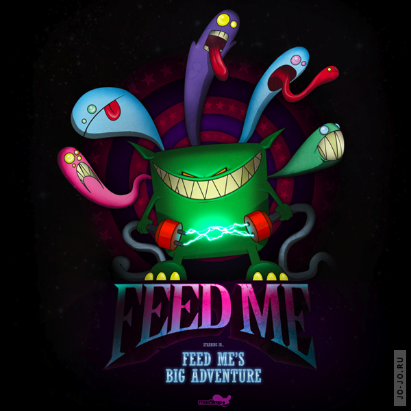 Spor pres. Feed Me - Feed Me's Big Adventure