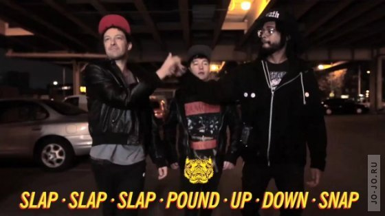 The Death Set - Slap Slap Slap Pound Up Down Snap