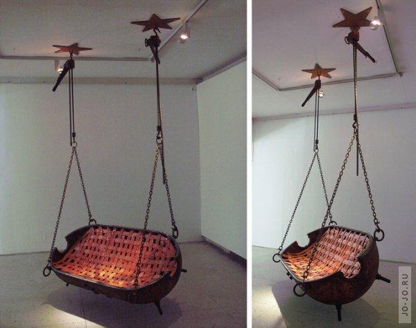 Мебель из мин от Mati Karmin