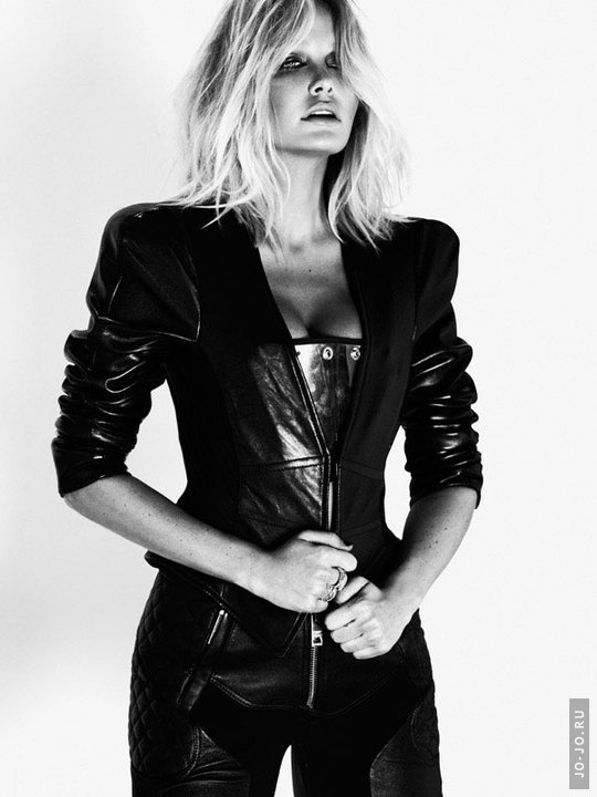 Lara Bingle by Stephen Ward and Georges Antoni