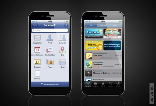 Концепт iPhone 5: iOS 5, 4G и отсутствие кнопки HOME