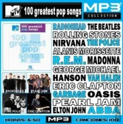 MTV Top 100 Greatest Pop Songs