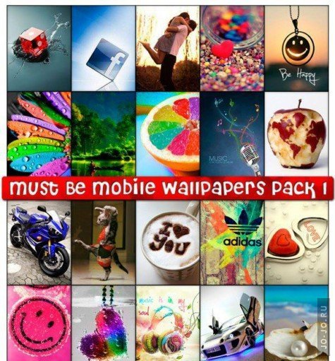 Must Be Mobile Wallpapers Pack №1