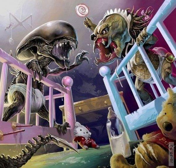 Картинки про хищников смешные