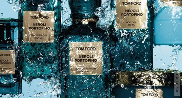 Рекламная кампания Tom Ford Neroli Portofino