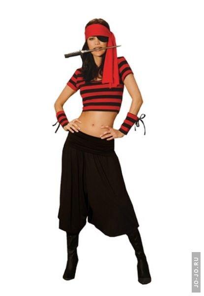 Пиратка костюм фото своими руками