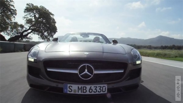 All New Mercedes SLS AMG Roadster 2012 Trailer