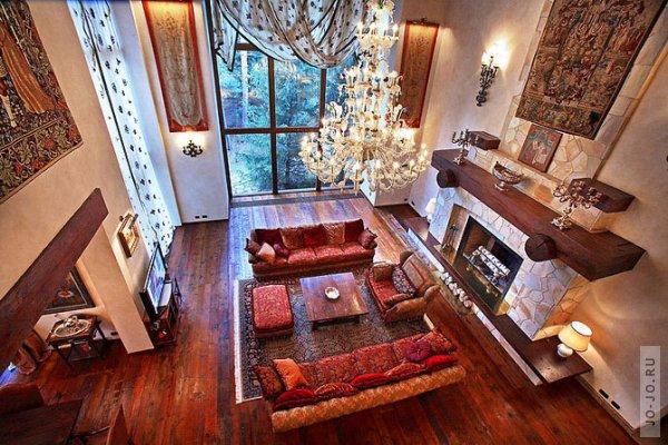 Самые красивые дома мира внутри