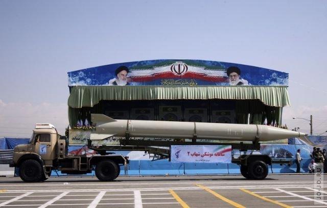 В Иране прошёл ежегодный парад в память об ирано-иракской войне.