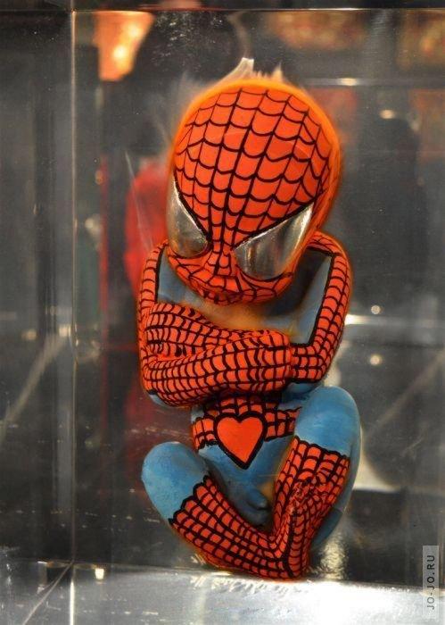 Концепт супергерои в зародыше