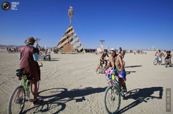 Фестиваль Burning Man 2011