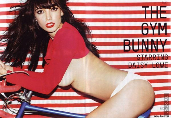 Daisy Lowe - Esquire (11-2011) UK