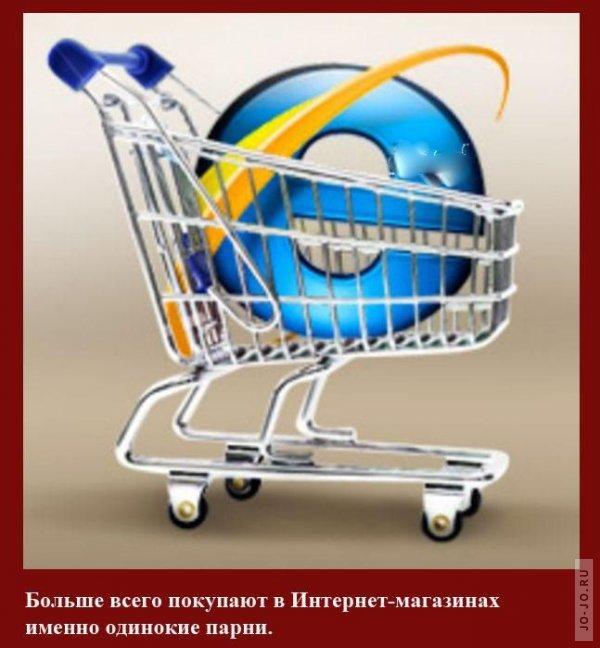Работа через интернет магазин