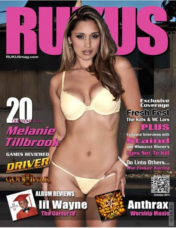 Melanie Tillbrook - Rukus October 2011 USA