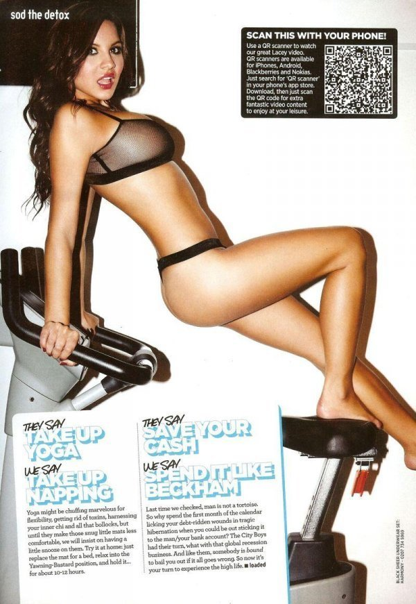Lacey Banghard - Loaded February 2012 UK