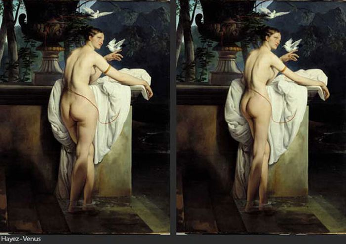 Фотошоп в известных картинах (7 фото) - Fishki.Net Фишкина картинка.