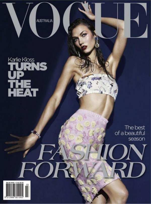 Karlie Kloss - Vogue March 2012 Australia
