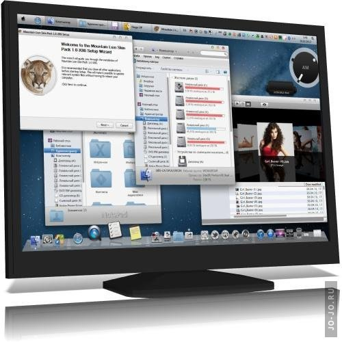 Mac Mountain Lion Skin Pack 1.0 For Windows 7