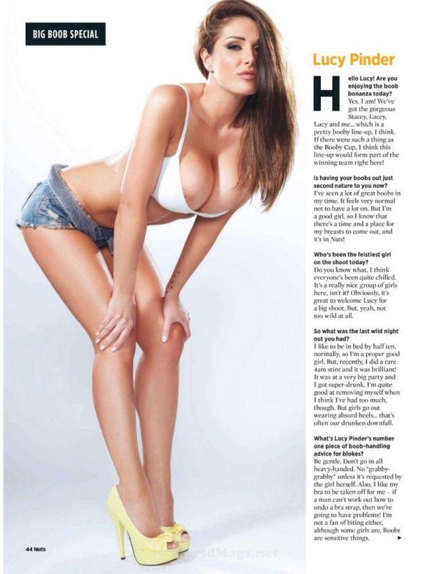 Lucy Pinder - Nuts February 2012 UK